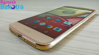Moto M Gold Full Review and Unboxing