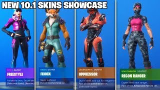 All *NEW* Fortnite 10.1 Leaked Skins, Emotes, & Cosmetics IN GAME! (Fortnite Update 10.10)