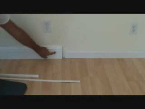 Installing baseboard what size base should i use youtube for Floor 4 do not remove