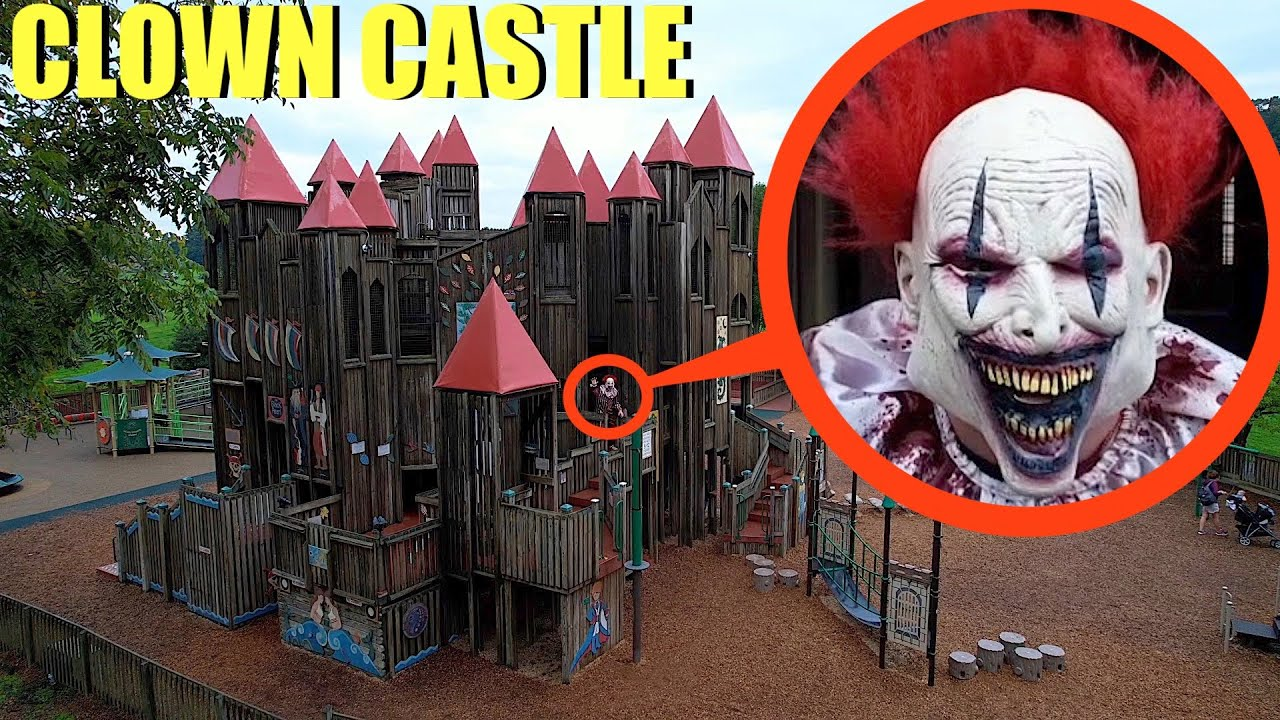 Download when you see this Clown inside of Clown Castle Playground RUN AWAY FAST!! (It's CRAZY)