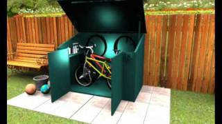 Bike Shed From Asgard - Maximum Security For Storing Your Bicycle Outdoors