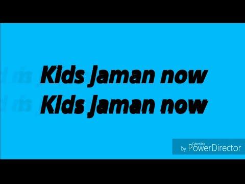 ECKO SHOW - KIDS JAMAN NOW [INSTRUMEN+LIRIK] (VERSI KARAOKE)