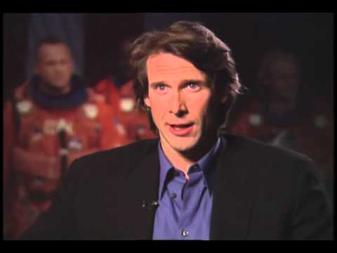 Director Michael Bay Talks With Jimmy Carter -Armageddon