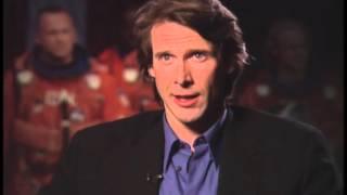 Director Michael Bay Talks With Jimmy Carter -Armageddon