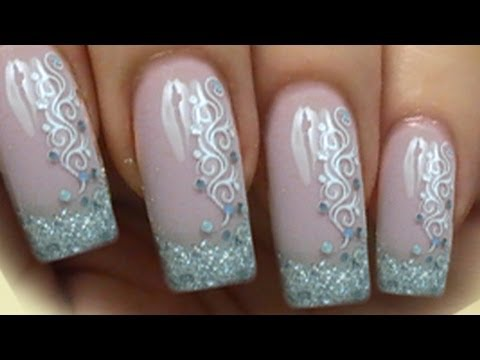 Request glitzer french nailart tutorial mit paillettten konad request glitzer french nailart tutorial mit paillettten konad stamping mit spiralen prinsesfo Images