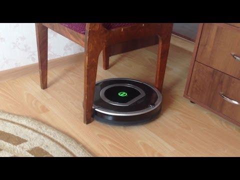 Робот-пылесос iRobot Roomba 780 уборка в помещении с препятствиями.(Part3)