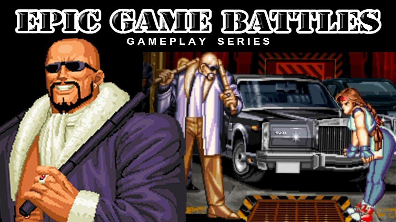 Epic Game Battles Mr Big Art Of Fighting 2 1994 Youtube
