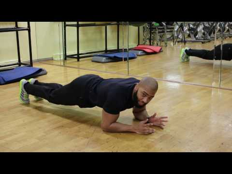 A Fast At-Home Bodyweight Workout With Plank Walks