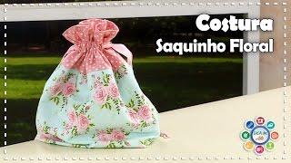 SAQUINHO FLORAL – Costura