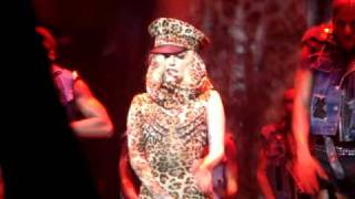 Lady Gaga Monster Ball Tour NZ - Poker Face