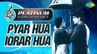 Gambar cover Platinum Song Of The Day| Pyar Hua Iqrar Hua| प्यार हुआ इक़रार |14th Dec | Manna Dey, Lata Mangeshkar