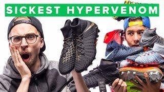 BLACK and GOLD Nike Hypervenom Phantom 3 Game of Gold football boots