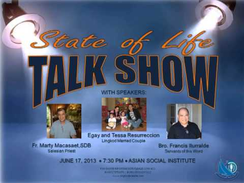 ALNP Manila Talk Show: State of Life