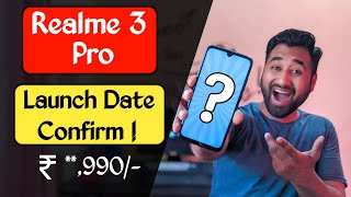 Realme 3 Pro Launch Date Confirm ! Price ! Specification ! Image ! Camera ! Fortnite ! 🔥🔥
