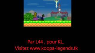 Avoir Luigi dans NS. Mario Bros DS