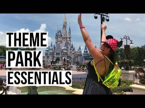 What To Pack For Disney World (Theme/Amusement Park Essentials)