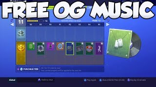 How To GET OG MUSIC WITHOUT BATTLEPASS GLITCH! - Fortnite Old Music FREE!