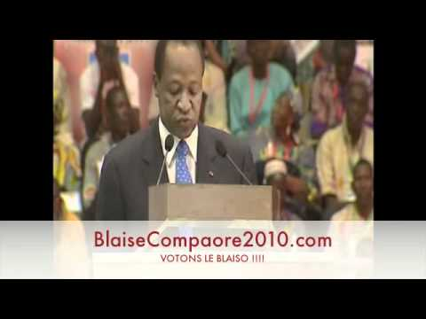 Download investiture BLAISE COMPAORE 2010