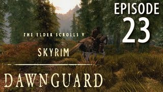Skyrim: Dawnguard Walkthrough in 1080p, Part 23: Slaying a Master Vamp for Gunmar (in 1080p HD)