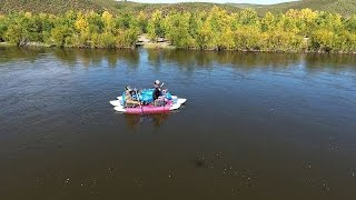UHD(4k) Река Онон. 2016г.