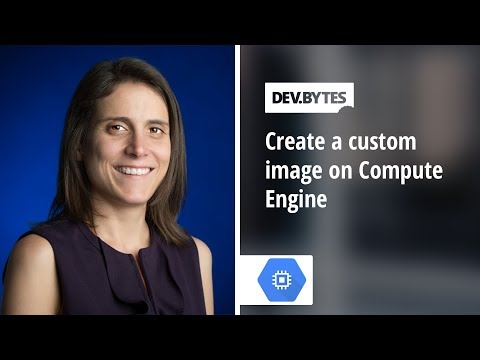 How to build a custom image for Compute Engine
