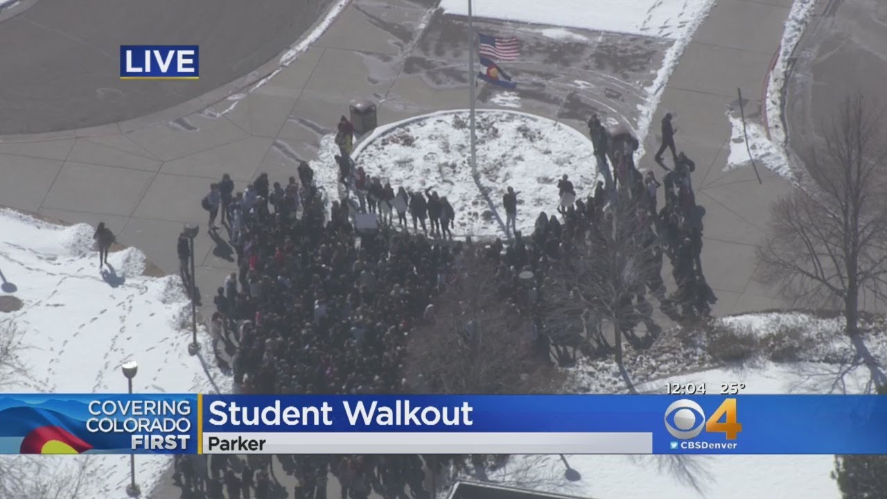 Colorado High Schoolers Stage Walkouts To Make Statement About School Shootings