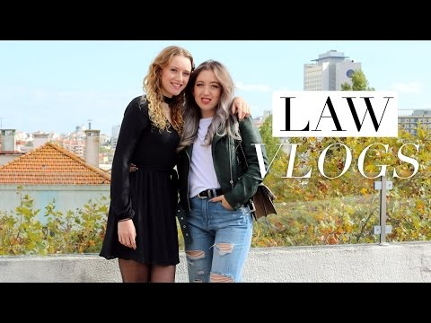 LAW SCHOOL VLOG #24 | What's It Like To Study Abroad? (Erasm
