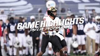 Taulia Tagovailoa Highlights At Penn State 11/7