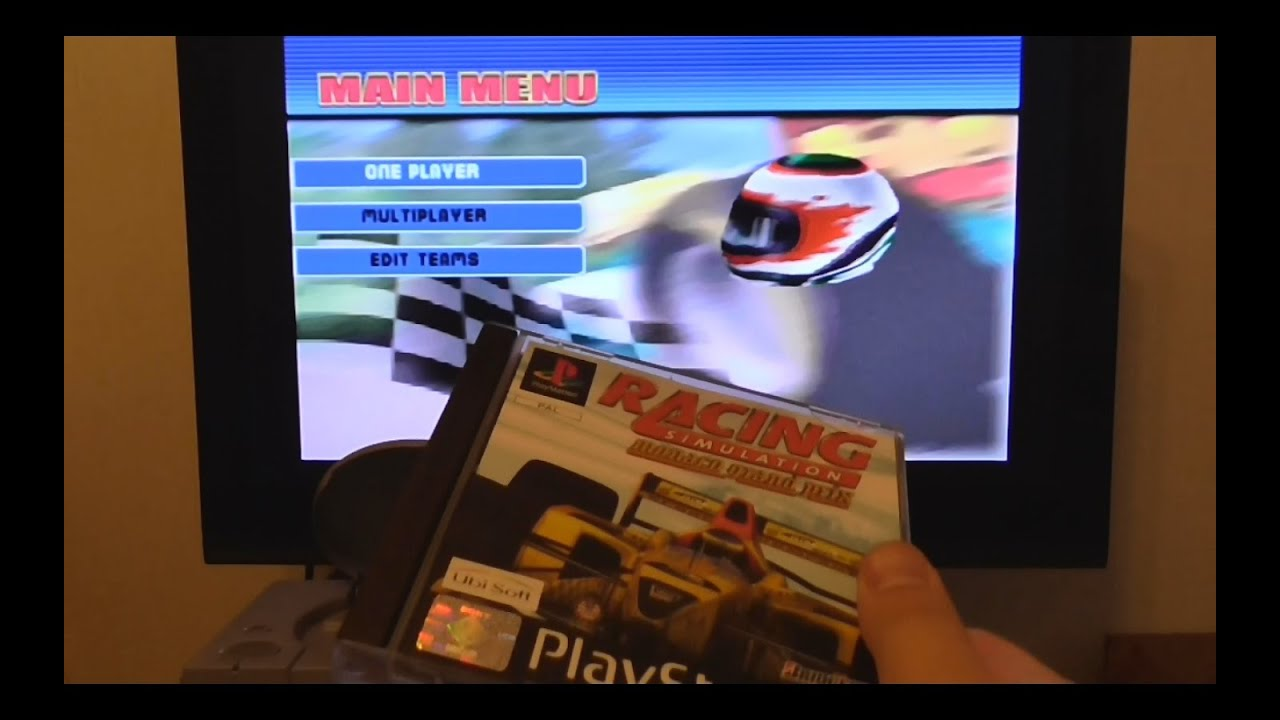 Monaco Grand Prix Racing Simulation 2 Gameplay Psx Ps One Hd 720p Circuit Simulator From This Menu Of You39ll Be Able Psone