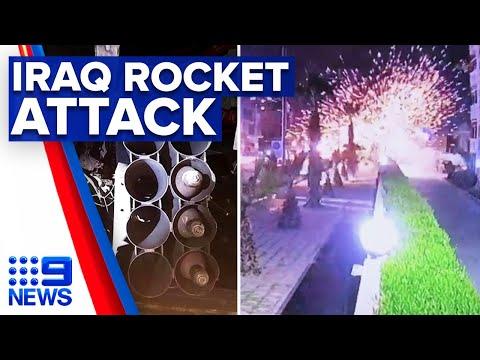 Iraq Rocket Attack Kills Contractor And Injures US Service Member   9 News Australia