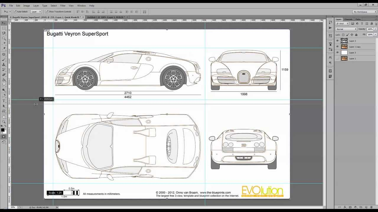 Tutorial making the bugatti veyron super sport in 3ds max part 1 tutorial making the bugatti veyron super sport in 3ds max part 1 reference images youtube malvernweather Choice Image