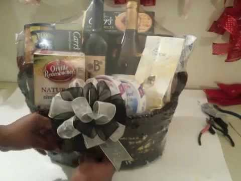 YouTube & How to Make a Wine Basket - YouTube