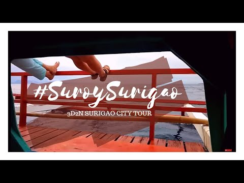 #SuroySurigao: 3D2N Surigao City tour | TravelJams