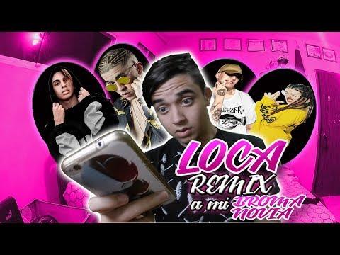Khea - Loca Remix Ft. Bad Bunny, Duki, Cazzu | Broma a mi Novia *Me Termina*