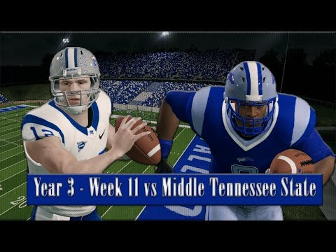 Switch at QB?! Baltimore State Dynasty Year 3 - Week 11 vs Middle Tennessee State