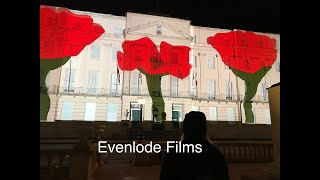 Lest We Forget - this AWESOME Projection-Mapping Event for Remembrance