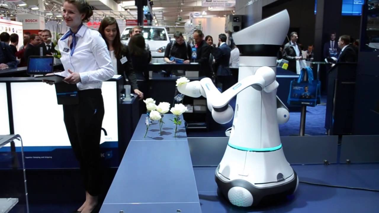 Schunk showcases Care-o-bot at Hannover Messe 2015