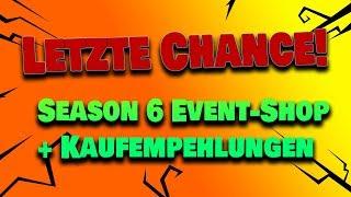 Season 6 ENDET! Der Event Shop   Fortnite Rette die Welt