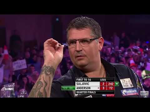 Sport1 HD: Grand slam of Darts 2017 Viertelfinale Mensur Suljovic - Gary Anderson