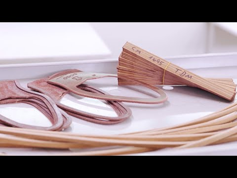 Как делают кожаную подошву для классической мужской обуви. ECCO Vitrus Mondial