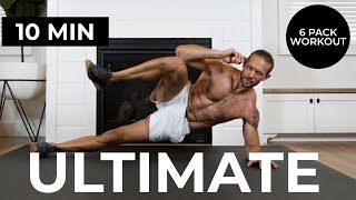 10 Min Home Ab Workout [ULTIMATE 6 PACK WORKOUT] TIFF x DAN
