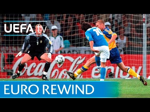 EURO 2000 highlights: Italy 2-1 Sweden