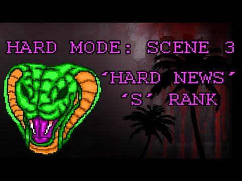 "Hotline Miami 2 On Hard: ""Hard News"" S Rank"
