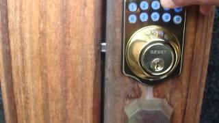 JCT電子ロック 鍵のかけ方 開け方 パッドキー使用