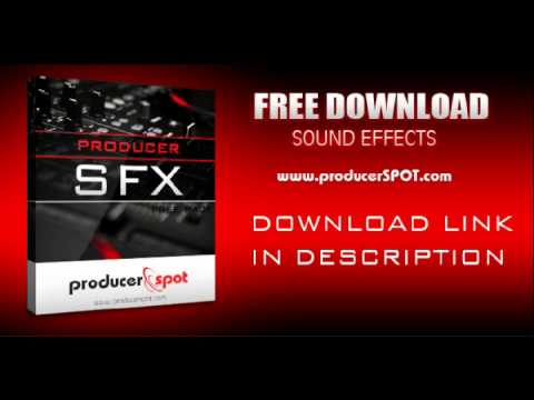 Producer SFX - Download Free Music Production Sound Effects Pack