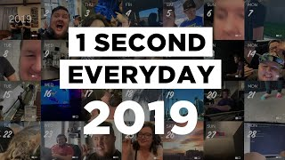 Gambar cover 2019 // 1 SECOND EVERYDAY