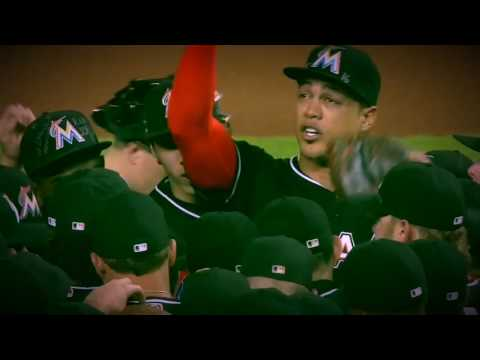 Miami Marlins game from 9/26/16 Jose Fernandez Highlights.