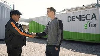 Ilpo Wennström kertoo Demeca biokaasulaitoksen hankinnasta