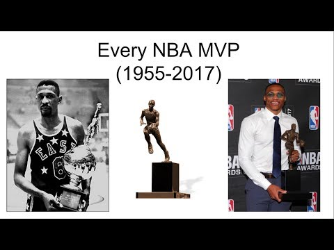 Every NBA MVP! (1955-2017)