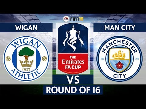 Wigan Athletic vs Manchester City | The Emirates FA Cup 5th Round 2017/18 | 19/02/2018